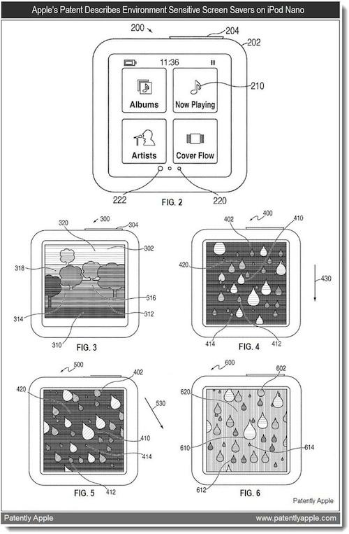 Patent: iPod Nano 7G mit Kamera und
