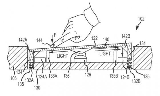 iPhone Bewegungssensor und MacBook Trackpad patentiert