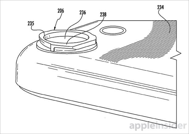 iPhone: Bajonettverschluss für Kameralinse patentiert