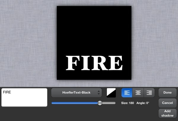 Artstudio Tutorial - Hot Fire Text