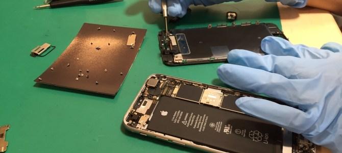 iPhone6sの修理【また黒!】