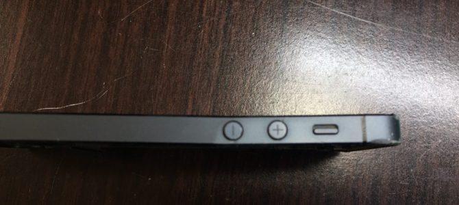 『フレームがガタガタ』札幌市中央区よりiPhone5液晶交換