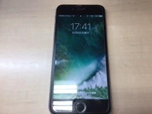 iPhone6ガラス割れ修理後1205