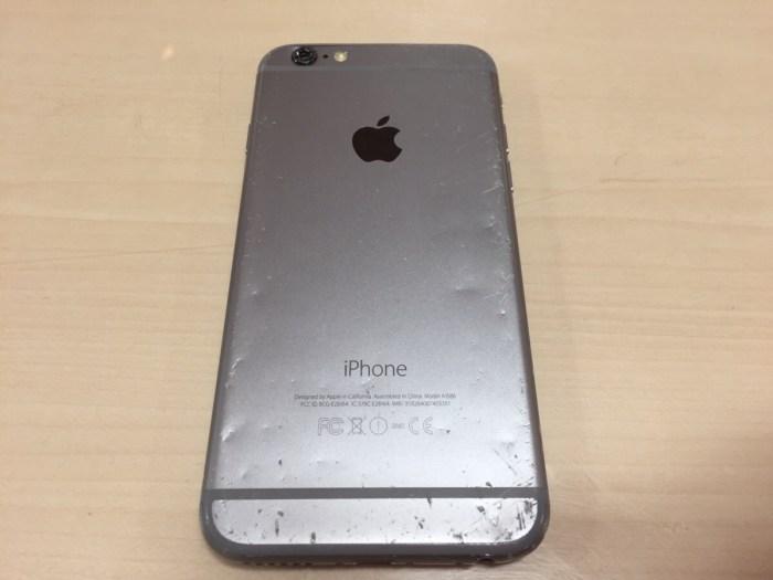 iPhone6フロントパネル修理3.0408