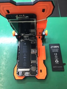 iPhone6Sバッテリー交換0107
