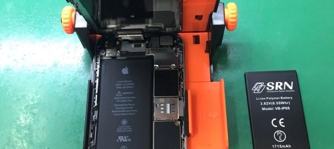 【iPhone6S】バッテリー交換 iPhone修理専門店アイフォンクリア新札幌カテプリブログ2018/1/7