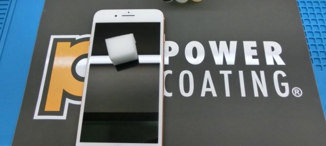 iphone8パワーコーティング施工 アイフォンクリア 恵庭店 iPhone/iPad修理専門店ブログ2018/2/25
