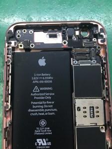 iPhone水没修理2/24