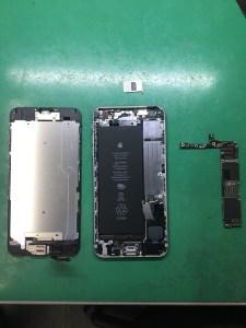 iPhone6Plus水没修理(2)