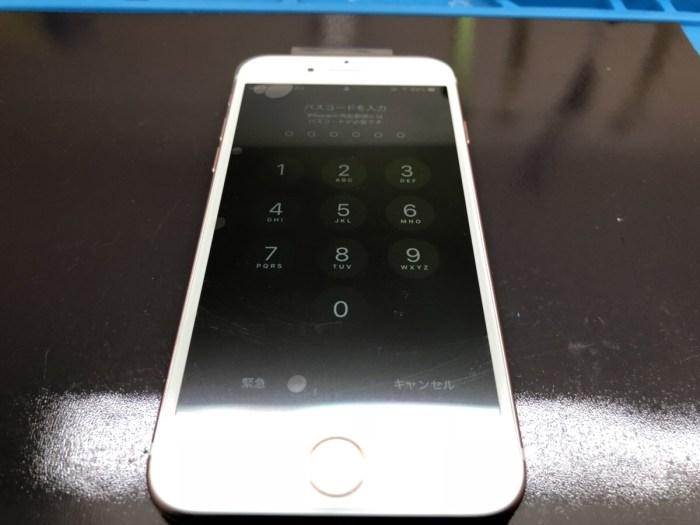 iphone 画面 ガラス 液晶 割れ 破損 修理 恵庭