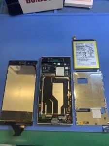 XPERIA XZバッテリー交換0303(3)
