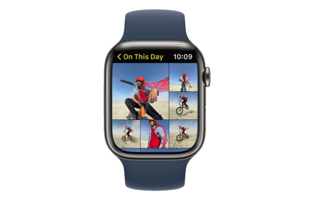 Apple WatchOS 8-foto's