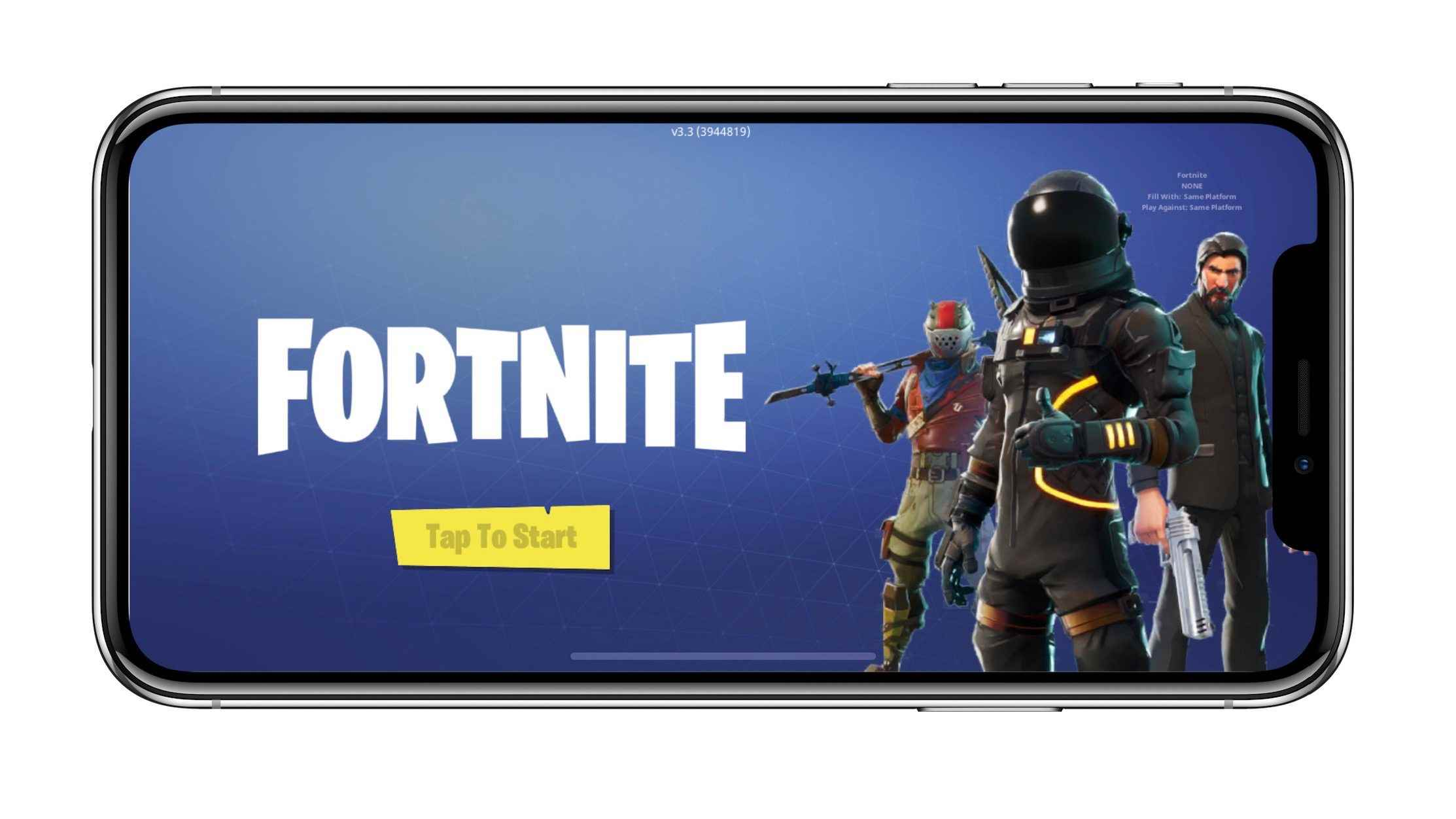 Iphone X Fornite Wallpapers Fortnite For Ios Generated Over 1m Of In App Purchases