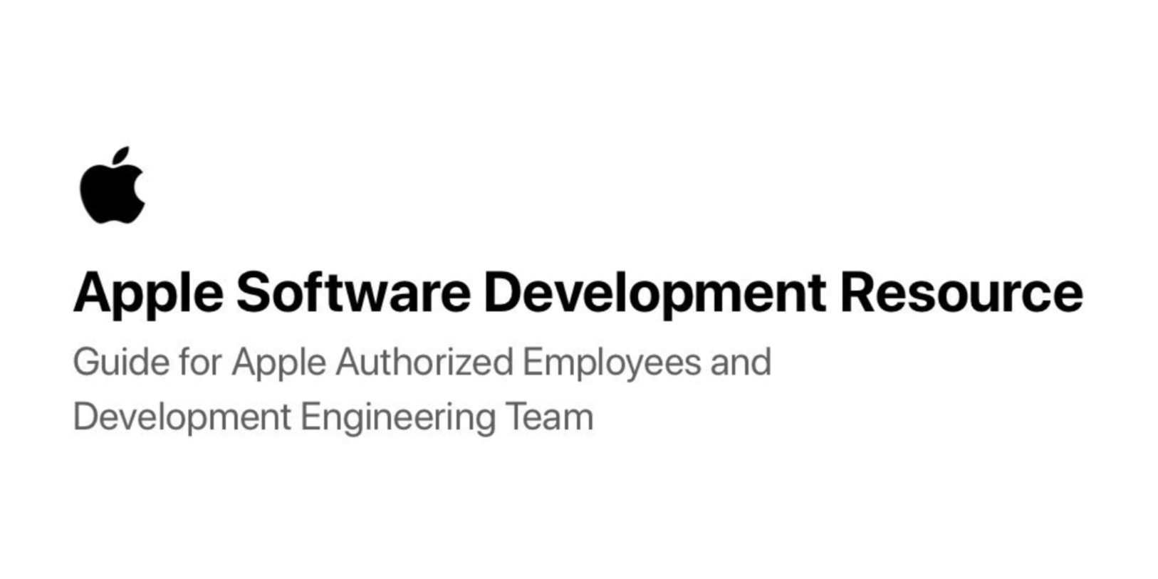 Probably faked document claims to reveal iOS 13 software