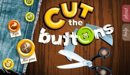 Cut The Buttons App For iPhone and iPad