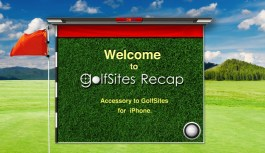 Golf Sites Recap™ – Track & Share your Golf statistics for the iPad: Review
