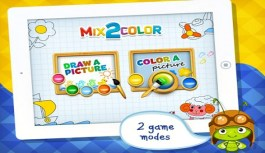 Mix 2 Color an Educational iPad App For Kids – Review