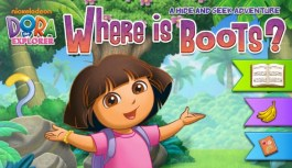 Dora the Explorer: Where is Boots? A Hide and Seek Adventure – Review