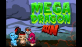 Platforming arcade action heats up on iOS with Mega Dragon Run!