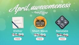 April Awesomeness Three Mac Apps Gone Free