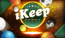 iKeepScores a must have app for sports fans