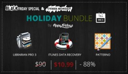 Black Friday & Cyber Monday bundle from AppyFridays