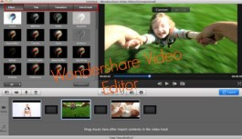 Wondershare Video Editor, The all-in-one powerful, fun and easy home video editor for Mac.