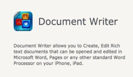 Document Writer – Word Processor and Reader for Microsoft Office: Review
