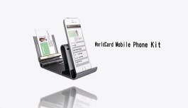 WorldCard Mobile Phone Kit, the Only Business Card Holder and Reader you Will Need – Review