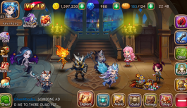 Collect 'em up MMORPG League of Angels – Fire Raiders is out now on iOS and Android