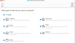 Put An End To Sleepless Nights With The EaseUS Data Recovery Wizard For Mac, v9.5