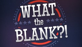 What the Blank? iPhone App Review