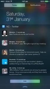 nc - twitter widget