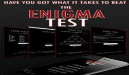 Enigma Test – Think outside the box