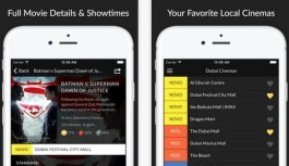 Intuitive Cinema App – UAE Cinema Showtime