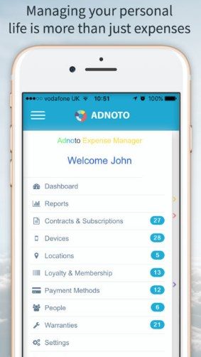 App Review – Adnoto Expense Manager - iPhoneGlance
