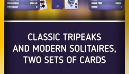 Challenge Your Friends to the Hot, New TriPeaks Solitaire Game