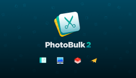 PhotoBulk Image Editor for Mac
