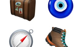 New iPhone Emoji including Kangaroo and skateboard
