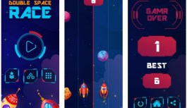 Double Space Race – Exciting & Challenging Space Racing Game