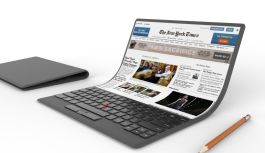 Lenovo Introduces the World's First Foldable Laptop