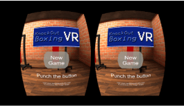 Knockout Boxing VR – Put Your VR Headset On and Box off Your Opponent