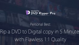 WonderFox DVD Ripper Pro – Quickly Backup Your Scratched DVDs