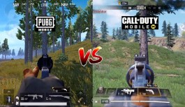 Comparison Between Call of Duty: Mobile and PUBG Mobile