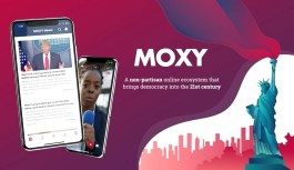Politics your thing, Then the MOXY App Will be Right for you