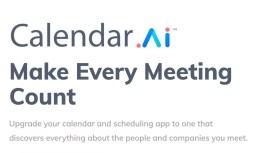 Calendar.AI: Business Calendar Review