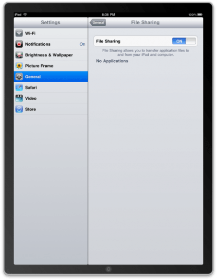 A Closer Look At iPad Features - File Sharing. Character Recognition. HTML5 YouTube And More