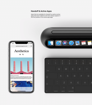 Mac mini iPhone X Handoff