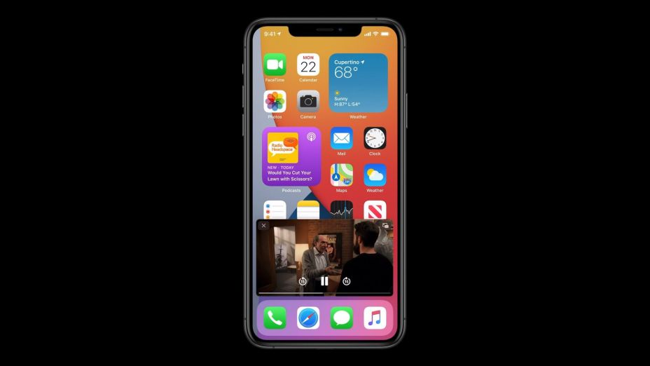 Apple iOS 14 Picture-in-Picture Mode