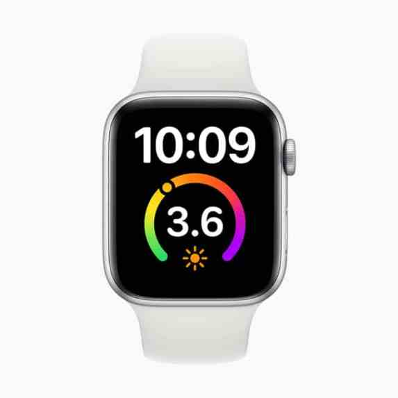 Apple watchOS 7 X-Large Watch Face Complication